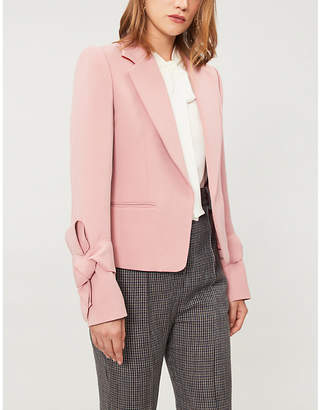 Roksanda Cloeda knot-detail woven jacket