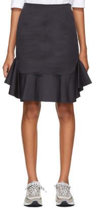 A.P.C. Navy Young Miniskirt