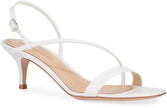 Gianvito Rossi Strappy Leather Slingback Sandals