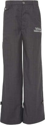 Off-White Oversized Pinstriped Pants