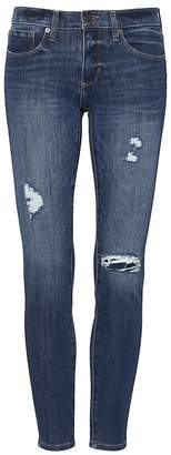 Banana Republic Petite Skinny Zero Gravity Medium Wash Ankle Jean