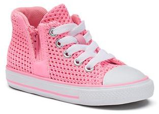 Toddler Girls' Converse Chuck Taylor All Star Sport Zip High-Top Sneakers $45 thestylecure.com