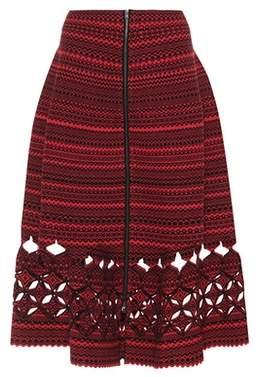 Fendi Wool-blend skirt