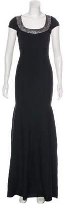 St. John Embellished Evening Dress w/ Tags