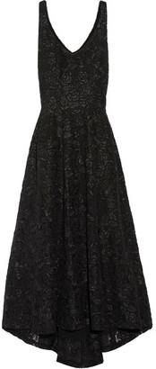 Co - Asymmetric Lace Gown - Black $1,325 thestylecure.com