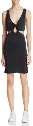 Project Social T Whitney Tie-Front Cutout Dress $88 thestylecure.com