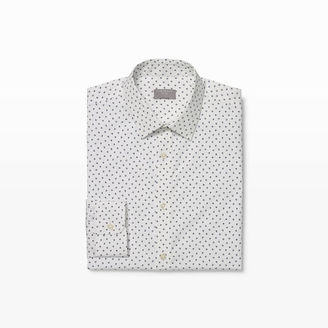 Club Monaco Slim Micro Floral Dress Shirt