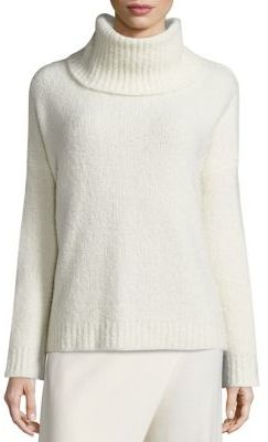 Polo Ralph Lauren Cashmere-Blend Turtleneck Sweater $498 thestylecure.com