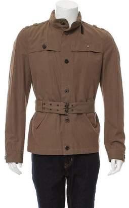 CNC Costume National Zip-Hood Safari Jacket