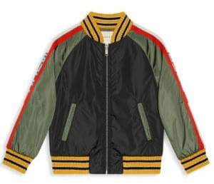 Gucci Little Boy's& Boy's Padded Bomber Jacket