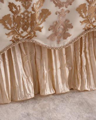 Sweet Dreams Isadora Crushed Silk Adjustable Dust Skirt