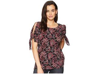 MICHAEL Michael Kors Sweetheart Paisley Top