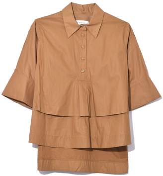 Carven Top in Chataigne