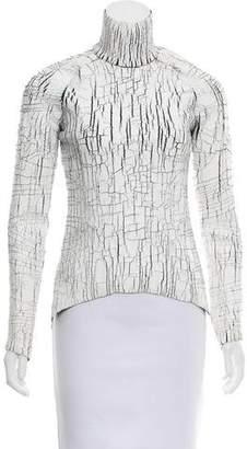 Balenciaga Painted Long Sleeve Turtleneck