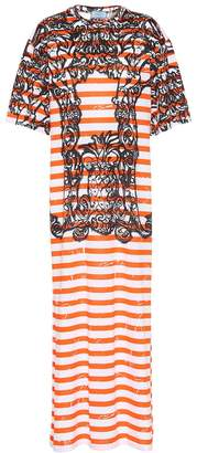 Prada Printed cotton dress