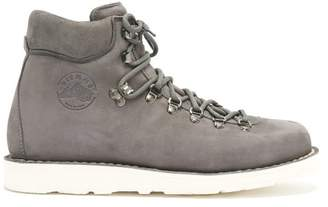 Diemme Roccia Vet Nubuck Lace Up Ankle Boots - Mens - Grey