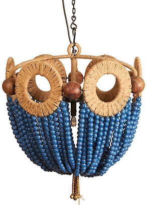 Selamat Mayfair Beaded Pendant - Blue