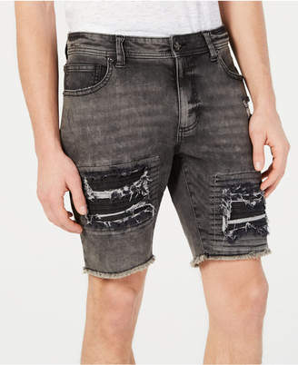 American Rag Men Slim-Fit Moto Shorts