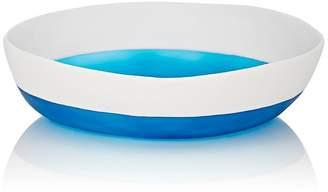 Tina Frey Designs Bi-Color Wide Salad Serving Bowl