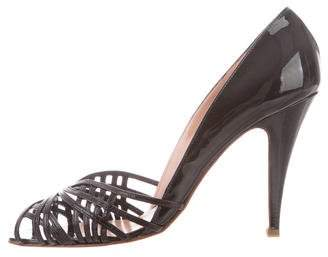 Sigerson Morrison Patent Leather Pumps