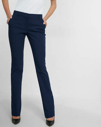 Express Petite Mid Rise Barely Boot New Waistband Columnist Pant