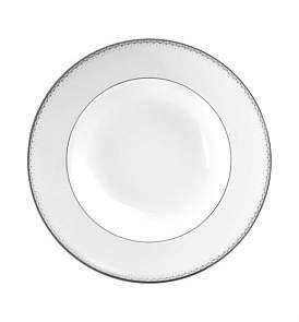 Monique Lhuillier Waterford Crystal Dentelle Rim Soup 23Cm