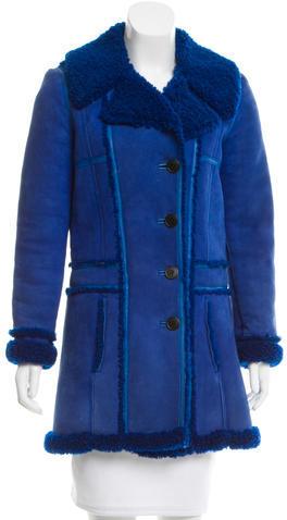Balenciaga Balenciaga Shearling Short Coat