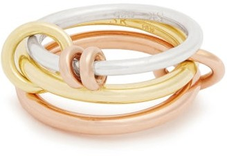 Spinelli Kilcollin Raneth Silver, Yellow & Rose Gold Ring - Womens - Gold