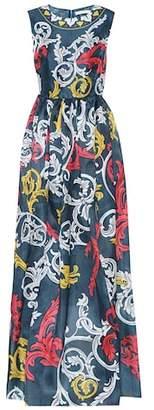 Mary Katrantzou Printed silk gown