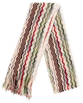 Missoni Knit Wool Scarf