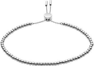 Skagen Anette Silver-Tone Beaded Bracelet