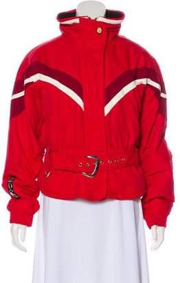 Spyder Zip-Up Down Jacket