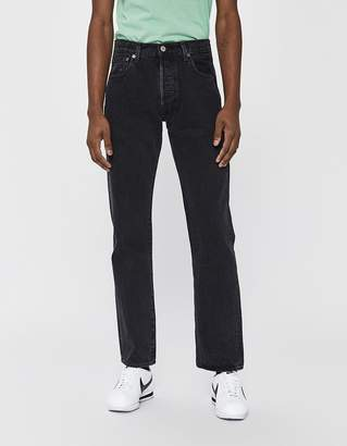 Levi's 501 Original Denim Jean in Black Stonewash
