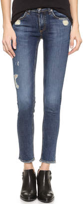 Rag & Bone/JEAN The Frayed Skinny Jeans $225 thestylecure.com