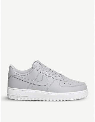 Nike Force 1 07 leather trainers