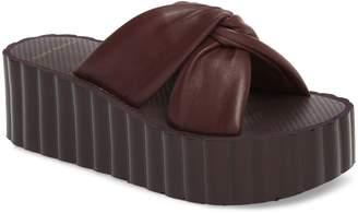 Tory Burch Scallop Platform Slide Sandal