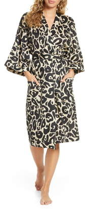 Chalmers Margaux Print Robe