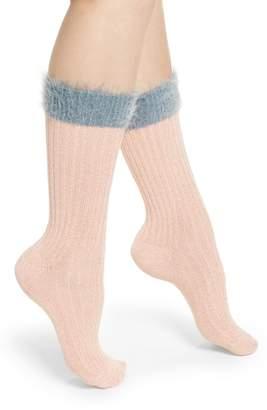 Happy Socks Hysteria by Judit Mid High Socks