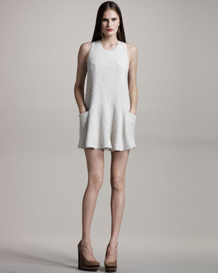 Theyskens' Theory Crochet Minidress