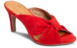 Aerosoles Street Lamp Knotted Suede Sandals