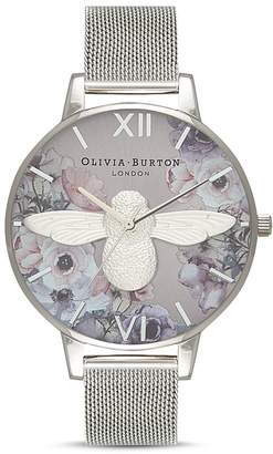 Olivia Burton Watercolour Florals Watch, 38mm