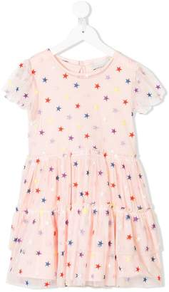 Stella McCartney star embroidered tulle dress
