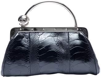 Gucci Black Ostrich Handbags