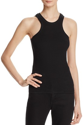Theory Ribbed Tank Top $190 thestylecure.com
