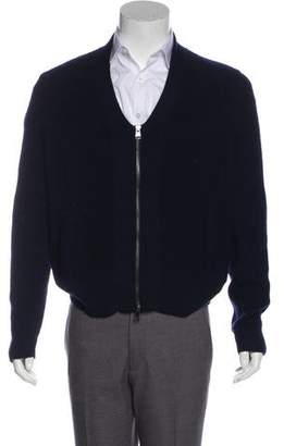 Theory Wool Zip Cardigan
