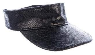 Stella McCartney Vegan Embossed Visor