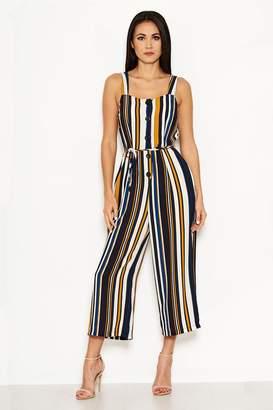 5dfad1cb042 Next Womens AX Paris Colour Block Stripe Jumpsuit