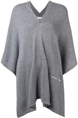 Sonia Rykiel knitted poncho jumper
