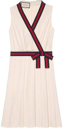 Gucci Jersey dress with Web