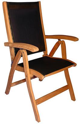 Regal Teak Teak Recliner Chair with Sling